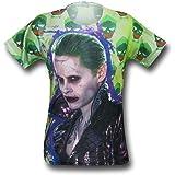 SuperHeroStuff Suicide Squad Joker Jacket Sublimated Men's T-Shirt