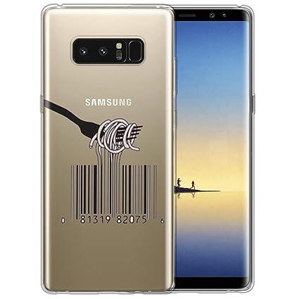 Amazon.com: Carcasa para Samsung Galaxy Note 8, diseño de ...