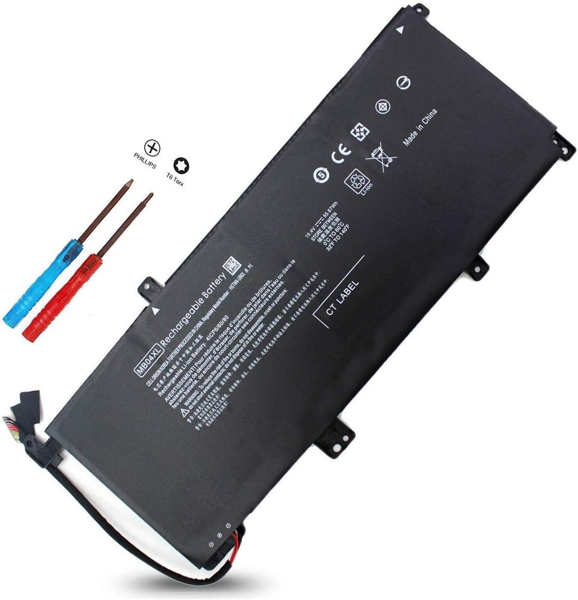 MB04XL Battery for HP Envy X360 M6 M6-AQ105DX M6-AQ103DX M6-AQ003DX M6-AQ005DX M6-AR004DX 15-AQ273CL 15-AQ267CL 844204-850 HSTNN-UB6X 15-AQ005NA 15-AQ101NG 15-AQ015NR 15-AQ173CL MBO4XL 843538-541