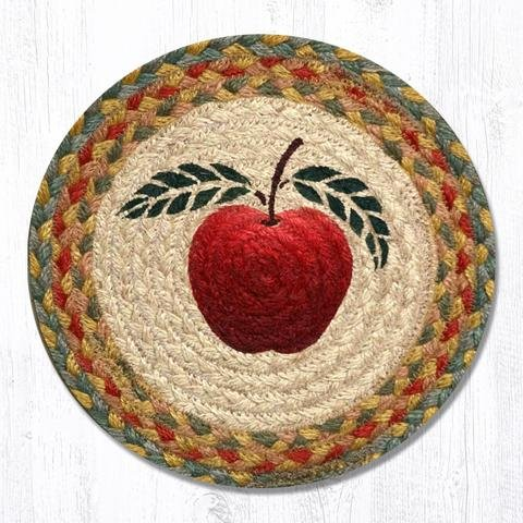 Earth Rugs TS-042A-4 Set of Trivets, 10''x10'', Red by Earth Rugs