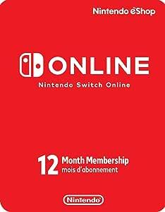 Nintendo Switch Online 12-Month Individual Membership - Switch [Digital Code]