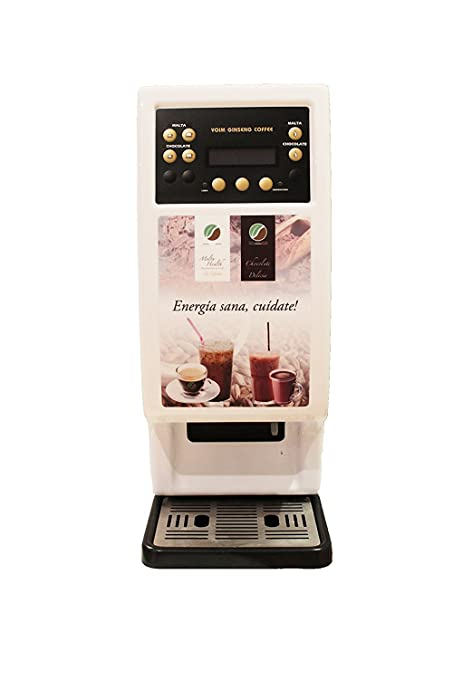 Máquina de bebidas solubles (café,té,...) de 2 selecciones ...