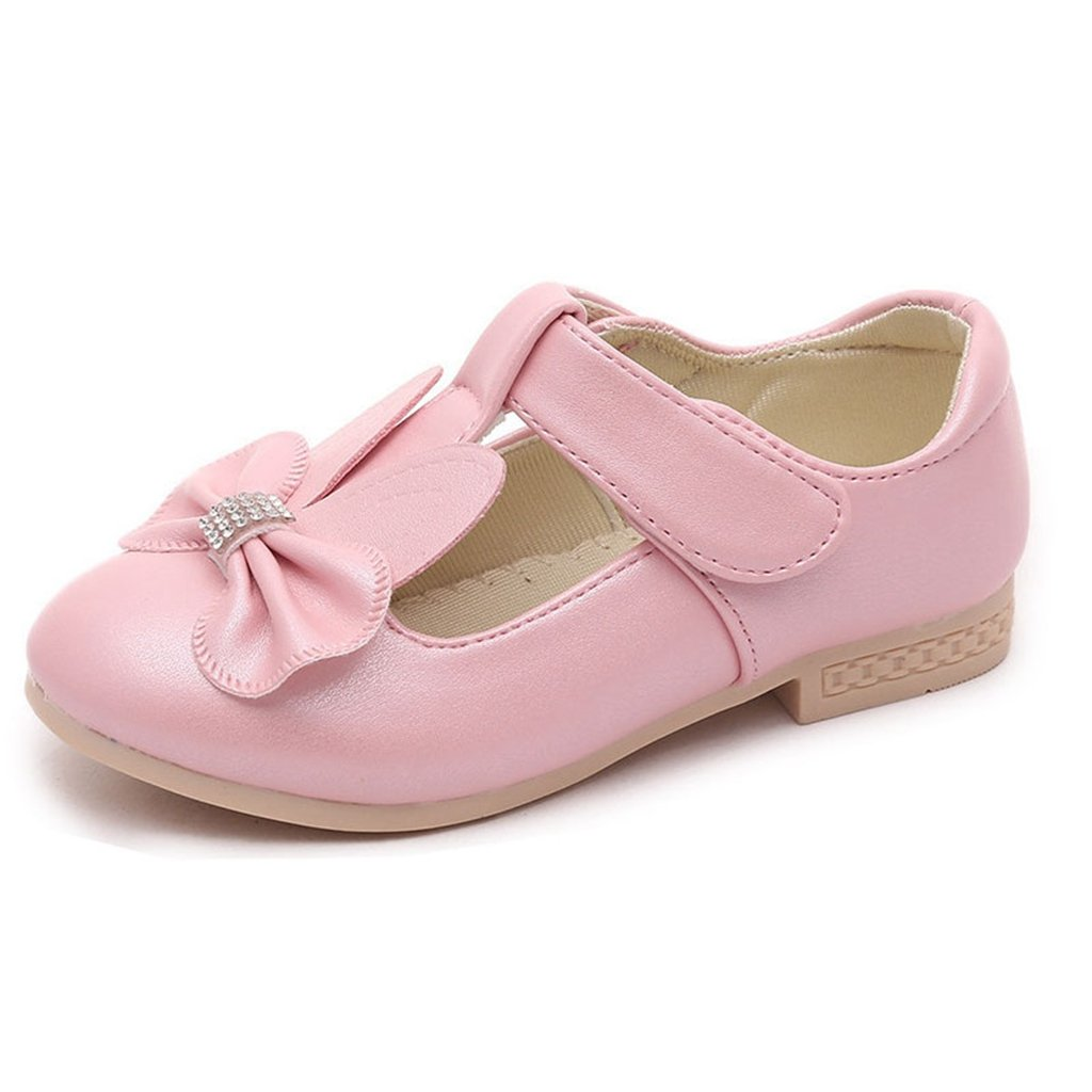 GIY Kids Flat Shoes Mary Jane Casual Slip On Ballerina Girls Glass Shoes