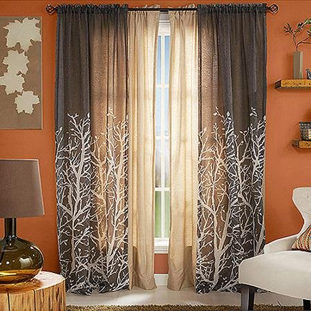 Amazon.com: Better Homes And Gardens Arbor Springs Semi Sheer Window Panel: Home  U0026 Kitchen