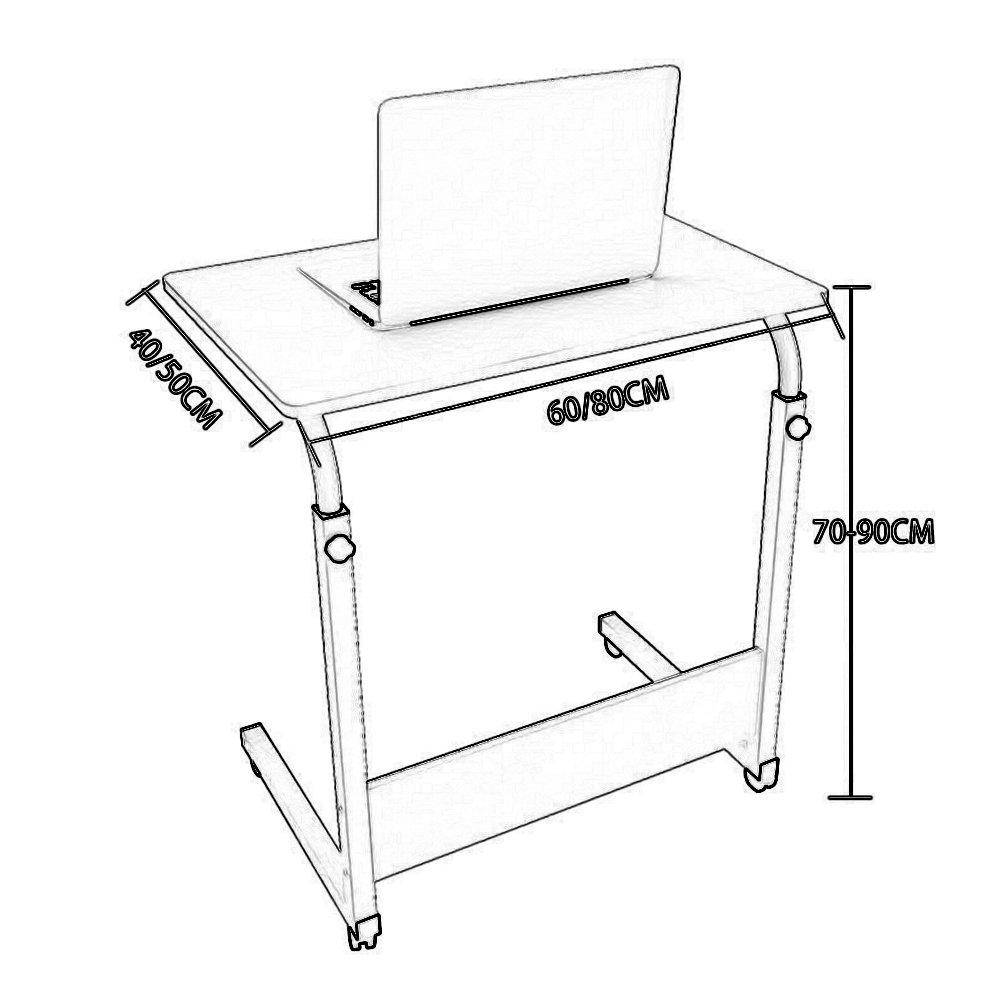 Amazon.com: Mesas MAZHONG Plegable Ajustable Portátil Varios ...