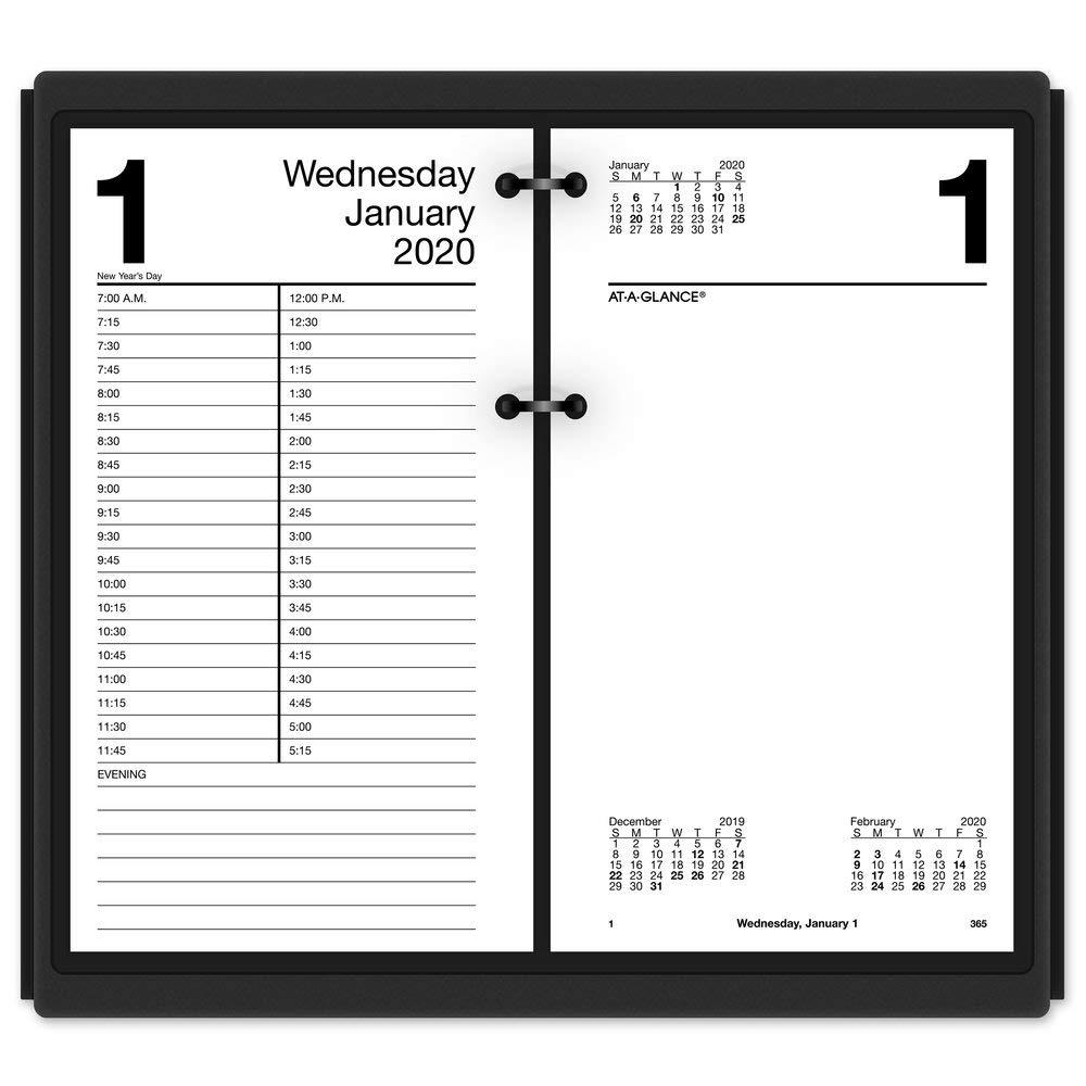 Amazon.com: AT-A-GLANCE Daily calendario de computadora ...