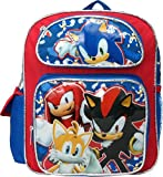 Sonic The Hedgehog 12 inches Toddler Mini Backpack