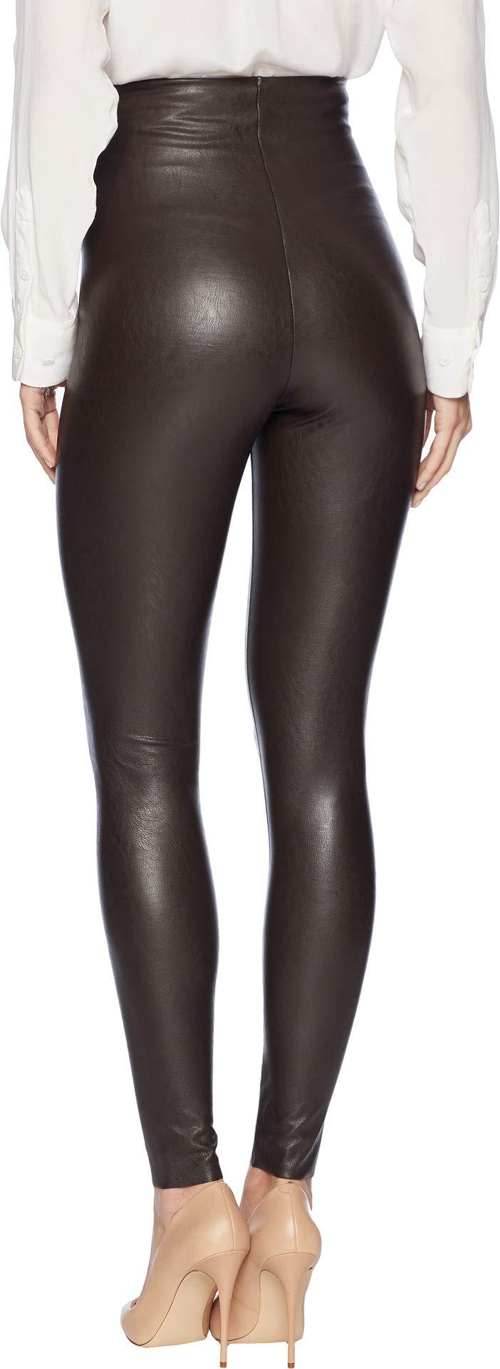 commando Women's Perfect Control Faux Leather Leggings SLG06 Espresso Large by commando (Image #3)