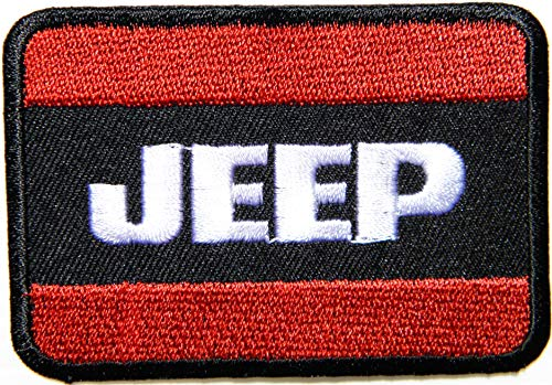 Patch MART : Jeep Wrangler Sahara 4WD Off Road Patch Iron on Sewing Embroidered Applique Logo Badge Sign Embelm
