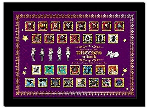 Puella Magi Madoka * Magica witch pins collection