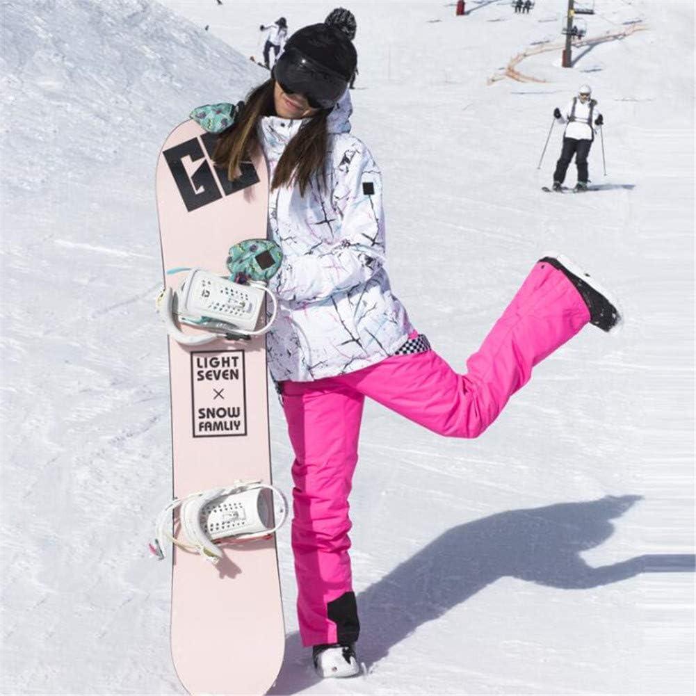 LanLan Combinaisons de Ski Femme Tenues de Ski Femme /épaisses Coupe-Vent pour Sports de Plein air
