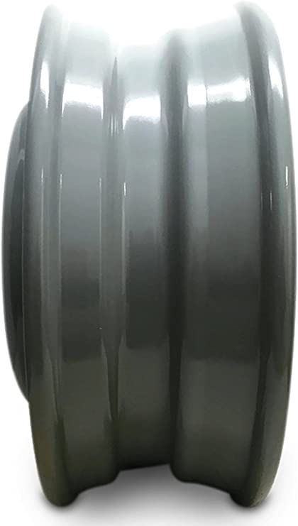 Road Ready Car Wheel For 2002-2003 Ford E550SD 1999-2003 Ford F450SD Ford F550SD 19 Inch 8 Lug Black Steel Rim Fits R19 Tire Exact OEM Replacement Full-Size