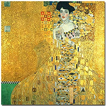 Klimt Frau In Gold