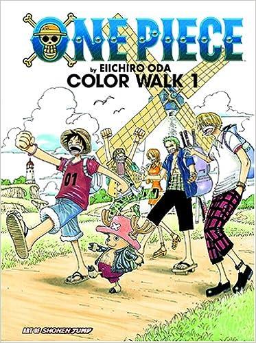 ONE PIECE COLOR WALK 8 WOLF Eiichiro Oda Illustration Book Japan