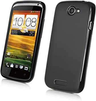 Muvit MUSKI0064 - Funda para smartphone HTC One S, color negro ...