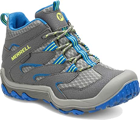 Merrell Kids' Chameleon 7 Access Mid Waterproof Hiking Boot