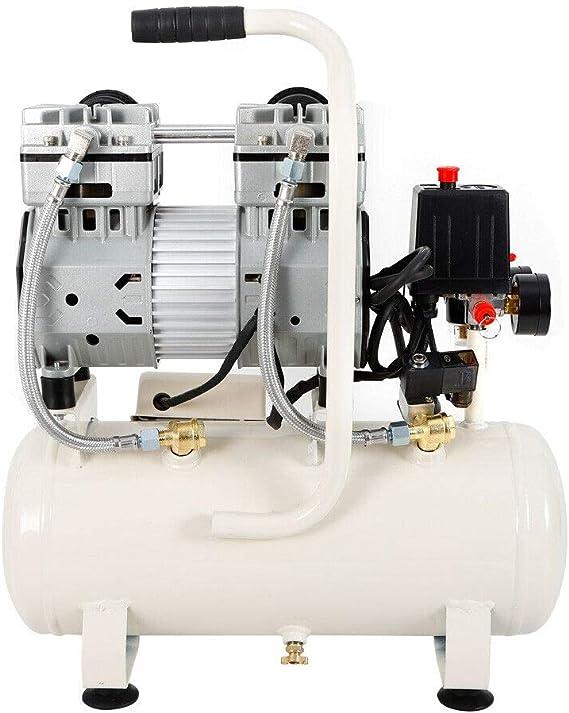 Oukaning Luftkompressor Druckluft Kompressor 15l Kessel 980w 80 L Min 8 Bar Ölfrei 43db Küche Haushalt