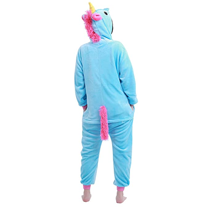 Amazon.com: iiniim Kids Boys Girls One Piece Unicorn Pajamas Cosplay Costume Animal Sleepwear Fleece Hoodie: Clothing