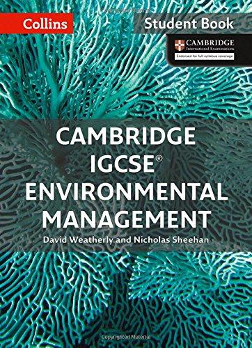 Cambridge IGCSE® Environmental Management: Student Book (Collins Cambridge IGCSE ®) - 0008190453