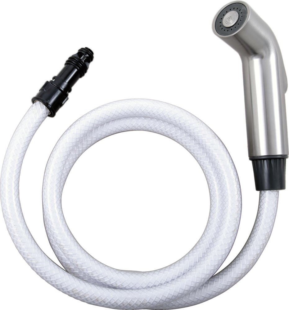 delta rp60097 spray hose and diverter assembly chrome faucet
