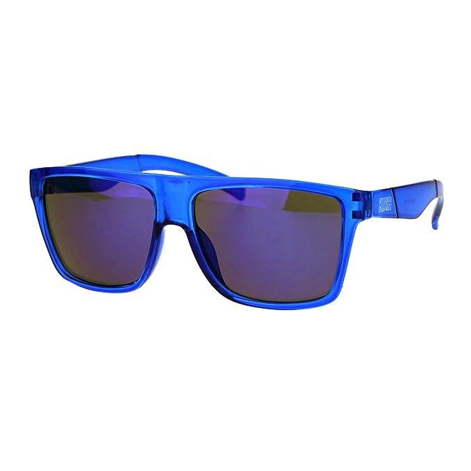 Amazon.com: KUSH Gafas de sol para hombre, marco cuadrado ...