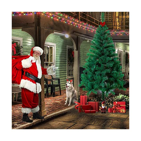 Mctech, albero di Natale artificiale, colore: verde, PVC, 210cm 7 spesavip