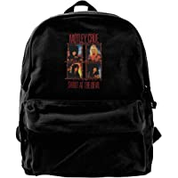Motley Crue Shout at The Devil Travel Laptop Backpack College School Computer Bag For Women & Men