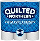 Health & Personal Care : Quilted Northern  Ultra Soft & Strong Mega-Roll Toilet Paper, Pack of 12 Mega Rolls, Equivalent to 36 Regular Rolls