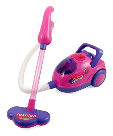 Pink Fashion Vacuum Cleaner Toy For Kids