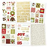 Simple Stories 7332 Classic Christmas Stickers