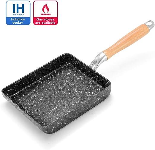 Japanese Non Stick Kitchen Frying Pan Skillet Omelet Breakfast Cookware