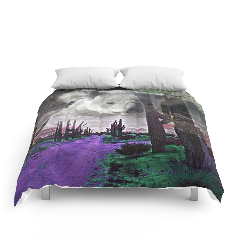 Society6 Magic Animals KOALA Comforters King: 104'' x 88''