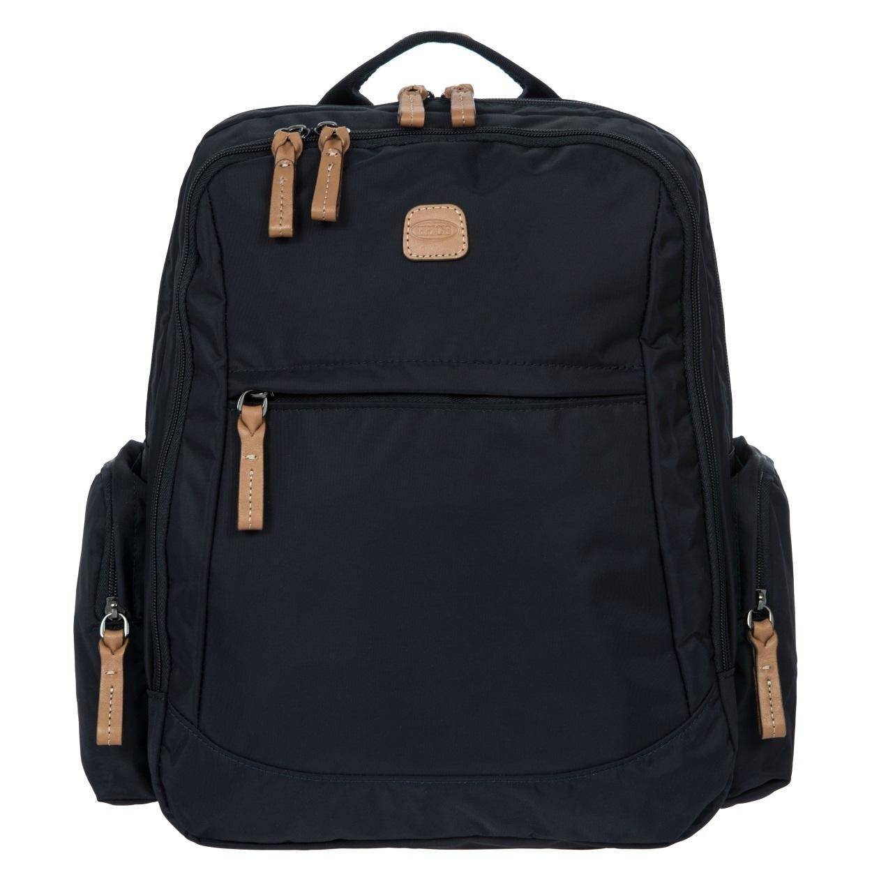 Bric's X-Bag/x-Travel 2.0 Nomad Laptop|Tablet Business Backpack, Black/Black, One Size