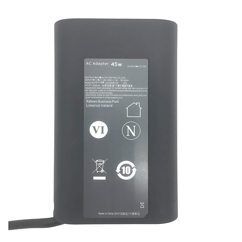 Amazon.com: EBK 45W Y91PF Cargador para Dell Latitude 7370 ...
