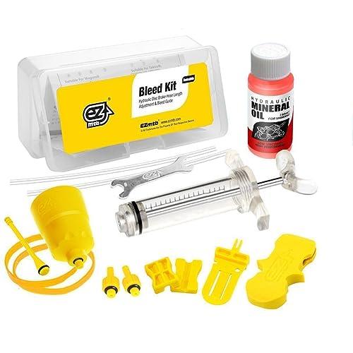 Kit de purge pour frein pour disque hydraulique Shimano–Inc.Fluide d'huile minérale