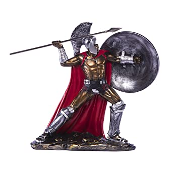 Goney Dekoration Altgriechisches Spartanisches  Krieger Modell Weinlese Harz Handwerk Passend Für Wohnzimmer
