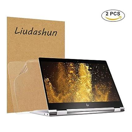 """Liudashun Protector de Pantalla HD Transparent para 12.5"""" HP Elitebook x360 1020 G2 Ordenador Portátil"""