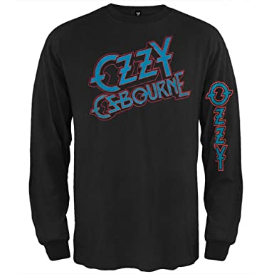 Amazon.com: Ozzy Osbourne - Mens Tilted Thermal Long Sleeve T ...
