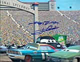 Autographed Mario Andretti Photo - 8x10 Cars Movie Image #SC1 inscribed Happy Birthday - Autographed Photos