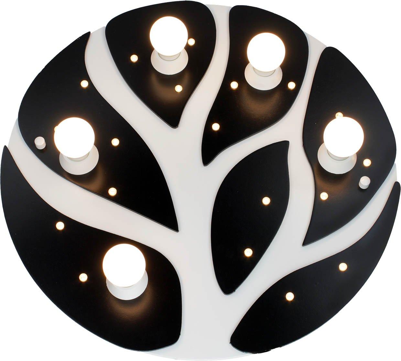 Elobra Deckenleuchte 'Tree' schwarz/weiß 130179