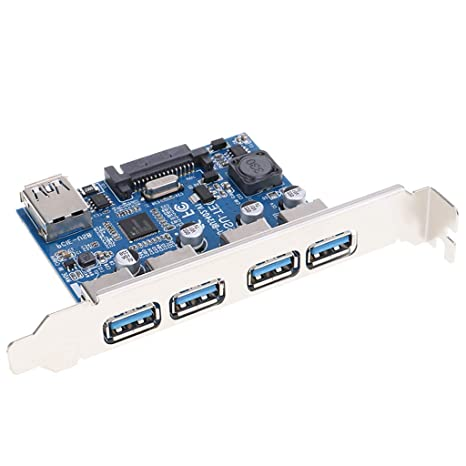 Gazechimp Tarjeta De Expansión USB 3.0 De 4 Puertos PCI ...