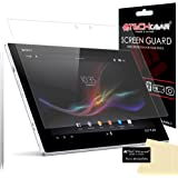 [Pack of 2] TECHGEAR® Sony Xperia Z2 Tablet MATTE / ANTI GLARE Screen Protector Guard Covers With Screen Cleaning Cloth
