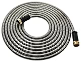 25 Ft Stainless Steel Garden Hose – Lightweight Hose Hero Metal Hose Water Hose