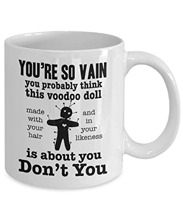 Amazoncom Funny Voodoo Doll Coffee Mug Ceramic Cup Relationship