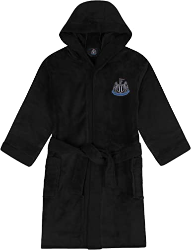 Newcastle United FC Dressing Gown Robe Fleece - Official Football Gift