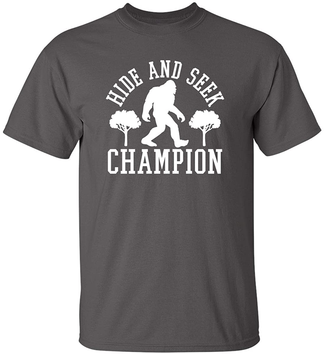 Bigfoot Hide and Seek Graphic Novelty Sarcastic Funny T Shirt