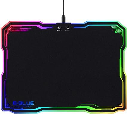 Tapis De Souris Gamer Lumineux Gaming Mouse Pad Avec Led Retro