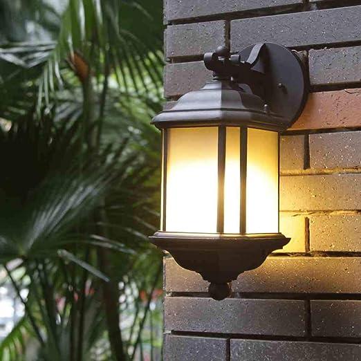 JAY-LONG Luz De Pared Impermeable LED, Luz De Jardín E27, Iluminación De Decoración del Hogar, Adecuada para Pasillo De Pasillo De Jardín De Pared De Balcón, 110-240 V, 24 * 47 Cm: