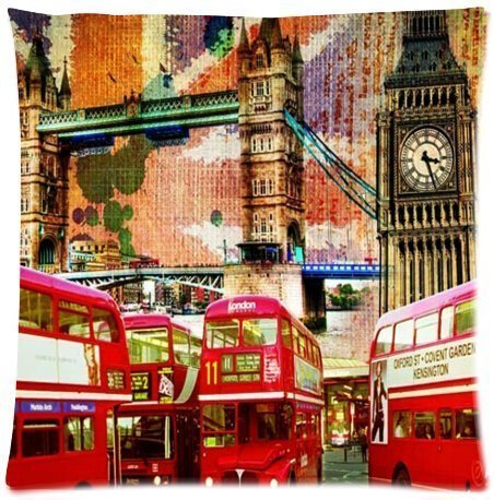 Amazon.com: Rojo Doble Decker camión London camión Throw ...