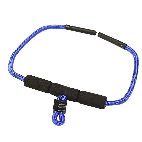 TENDYCOCO Gafas de sol con correa, gafas y lentes de retención para los deportes acuáticos Rafting Pesca a la deriva (azul)